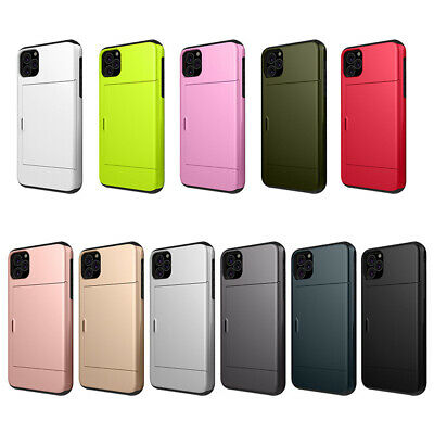 AU9.13 • Buy 2 In 1 Protective Phone Case With Card Slot For IPhone XR Wallet Card Holder SEL