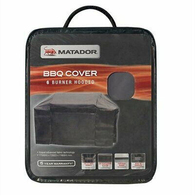 AU119.99 • Buy Matador XRepel Hooded BBQ Cover - 6 Burner