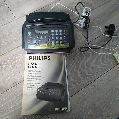 Philips Fax And Telephone Machine Model HFC171 • 29.50£