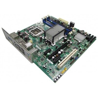 $ CDN28.89 • Buy Intel DQ45CB LGA775 DDR2 GMA 4500 MATX Motherboard With IO