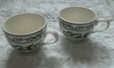 £6.50 • Buy 2 X PORTMEIRION Botanic Gardens Variations Cups - Forget-Me-Not