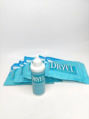 DRYEL Home Dry Cleaning Clean Breeze Scent 5 Cloths+ Discontinued Stain Remover • 16.25£