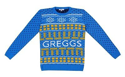 £44.99 • Buy Limited Edition Greggs Knitted Festive Christmas Jumper