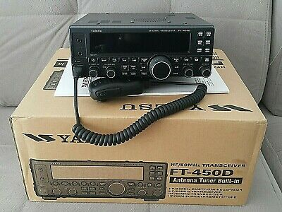 !!! Yaesu Ft-450d All Mode Hf+vhf6m Transceiver Perfect Condition !!! • 565£