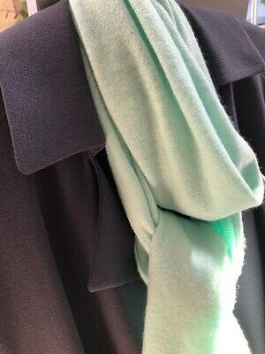 £29 • Buy Jaeger 100% Pure Cashmere Turquoise Scarf