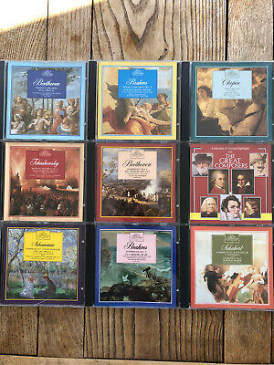 £13.50 • Buy The Great Composers And Their Music. Set Of 9 CD's Excellent  Condition