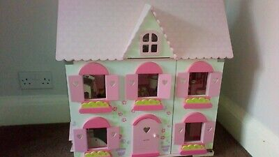 £35 • Buy ELC Dolls House Complete With Furniture, Camper Van And Family