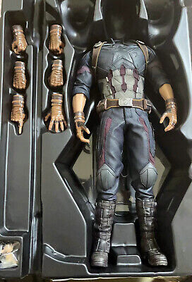 $ CDN259.98 • Buy Hot Toys HT 1/6 Captain America Action Figure Body 6.0 Outfits 12in. Hand Shape