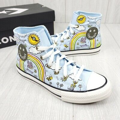 £32.64 • Buy Converse Chuck Taylor All Star High Top Happy Camper Shoes