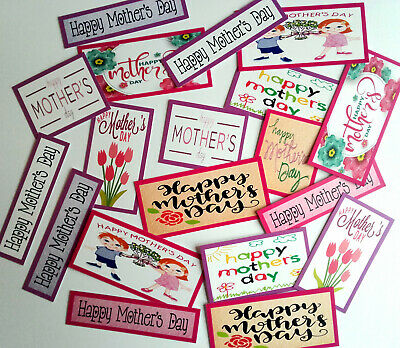£2.09 • Buy 19+ MIXED MOTHER'S DAY Sentiments/Toppers Card Making/Scrapbooking/Crafts M19