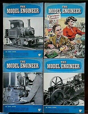 £1.99 • Buy Vintage, The Model Engineer Magazine X 4 Parts From December 1954, Volume 111.
