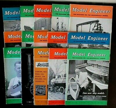 £4.99 • Buy Vintage, The Model Engineer Magazine X 15 Parts From, 1957, 1958, & 1959.