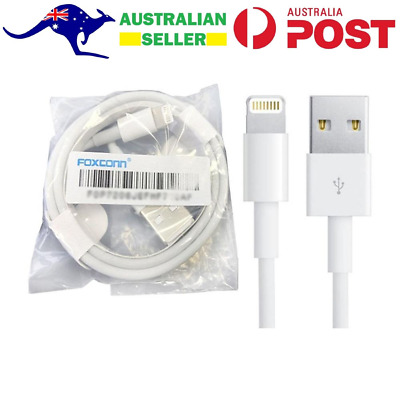 AU8.49 • Buy 2x Certified 1M Lightning USB Data Cable Charger For IPhone Pro Max IPad IPod