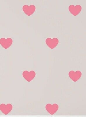 £3.99 • Buy 30 Love Heart Wall Stickers Decal Matte Vinyl Decor Baby Nursery Various Colours