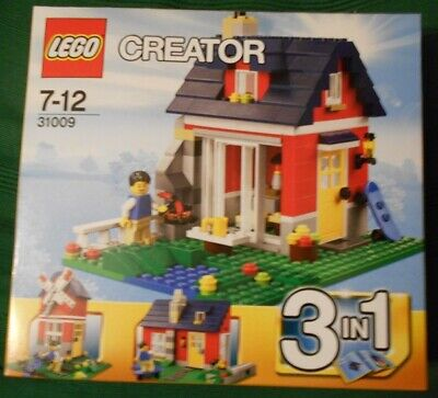 Lego Creator, 31009 Small Cottage 3 In 1. New,Sealed Box. Lower Price. • 34£