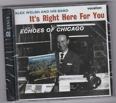 £8.95 • Buy Alex Welsh & His Band It's Right Here For You & Echoes Of Chicago - CDNJT5321