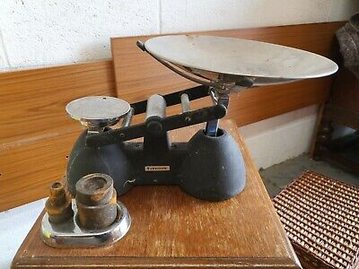 Typhoon Weighing Scales Old Vintage Retro Sweet Shop Scale • 8.50£