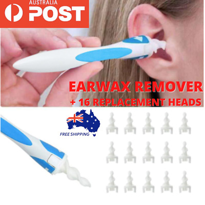 AU11.95 • Buy AU Ear Wax Removal Remover Tool Ear Cleaner Q-Grips Pick Swab Handle 16 Tips