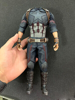 $ CDN205.26 • Buy Hot Toys HT MMS480 1/6 Captain America Action Figure Body 6.0 Outfits 12in. New