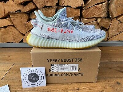 $ CDN397.55 • Buy Adidas Yeezy Boost 350 V2 Blue Tint B37571 UK 11.5 US 12 EU 46 2/3