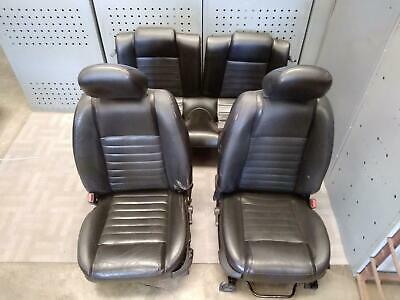 $825 • Buy 2005-2007 FORD MUSTANG Front & Rear Complete Seat Set W/Sport Type OEM 2006