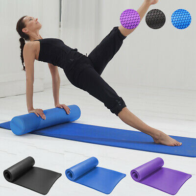 AU14.29 • Buy Physio EVA Foam Roller Yoga GYM Pilates Mat Pad NBR Fitness Mats Back Exercise