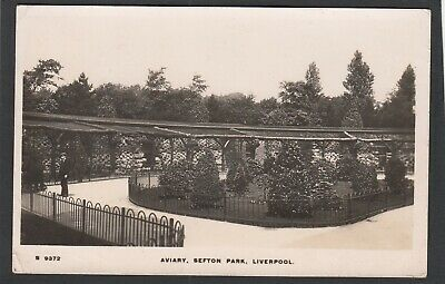 £6.99 • Buy Postcard Liverpool View Of The Aviary In Sefton Park Posted 1916 RP WHS Kingsway
