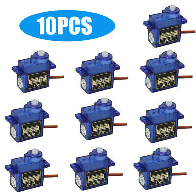 AU8.99 • Buy 1-10x9G SG90 Micro Servo Motor For RC Robot Helicopter Airplane Aircraf Car Boat