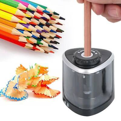 £5.88 • Buy Electric Pencil Sharpener Automatic Touch Switch Battery Power Office Classroom