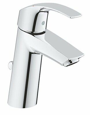 GROHE Eurosmart Basin Tap, Single-lever Mixer, Bathroom, Pop-up Waste, Medium • 98.11£
