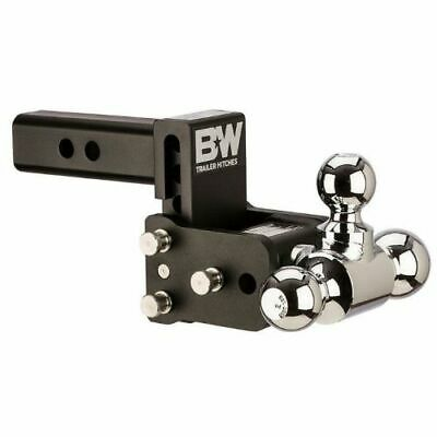 $ CDN265.99 • Buy B&W Hitches TS10047B Tow And Stow Tri Ball Adjustable Ball Mount - 3  Drop NEW