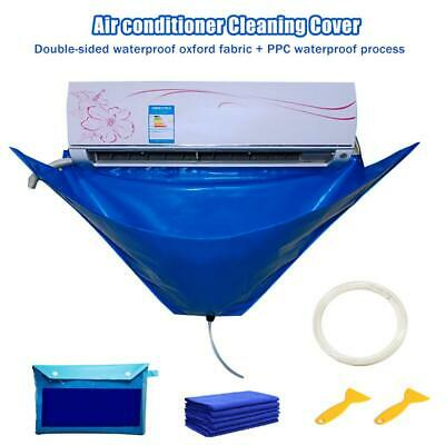 AU22.99 • Buy Air Conditioner Cover Cleaning Protector Washing Bag Waterproof Clean Tool NEW