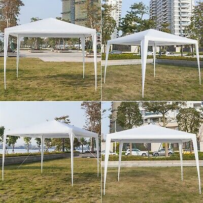 3x3m Gazebo Marquee Wedding Party Tent Garden Canopy Camping Outdoor Waterproof • 46.89£