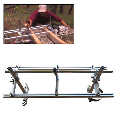 £65 • Buy Portable Chainsaw Mill Attachment Planking Milling Lumber 14  - 24  Guide Bar UK