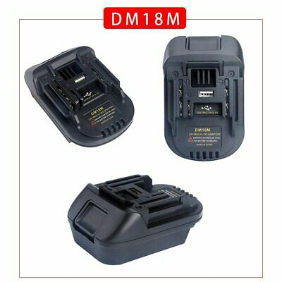 AU20.97 • Buy Portable Battery Adapter For Makita Tools Convert To Milwaukee 18V Battery