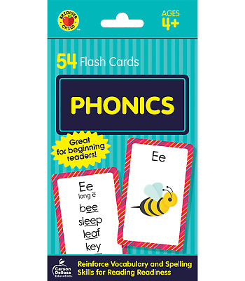 £3.77 • Buy Phonics (Brighter Child Flash Cards) Free DELIVERY