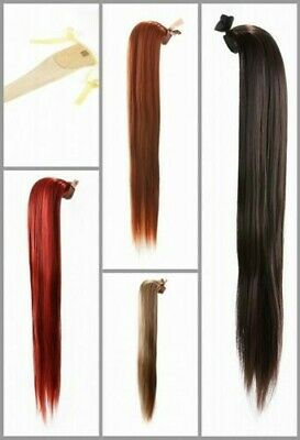 $19.84 • Buy Prettyland 23 5/8in Long Hair Smooth Braid Ponytail Clip-In Piece Extensions
