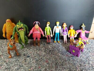 £18.95 • Buy BUNDLE COLLECTION Of SCOOBY DOO ACTION FIGURES TOYS - FRED SHAGGY....