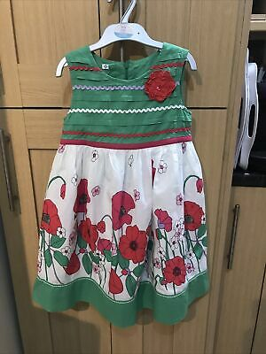 AU9.92 • Buy John Lewis Girls Dress Age 6 Years Vgc