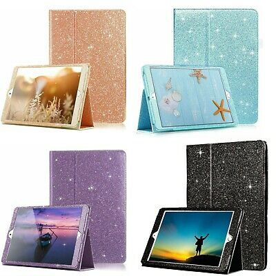 £7.95 • Buy Apple IPad 10.2 7th/8th Gen 2020 Leather Glitter Shining Bling Stand Cover Case
