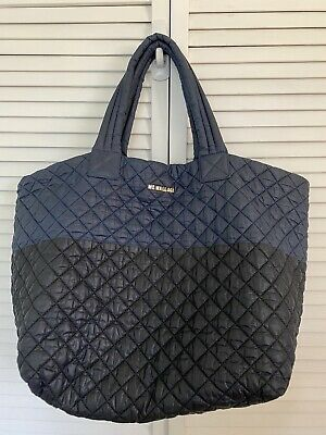 AU205.09 • Buy MZ Wallace Large Metro Tote Blue Black Bicolor