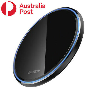 AU6.50 • Buy 10W/15W Qi Wireless Charger FAST Charging Pad For Apple/Samsung /Android Phones