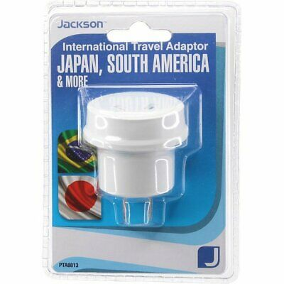 AU9.99 • Buy Jackson Japan And South America Outbound Travel Adaptor