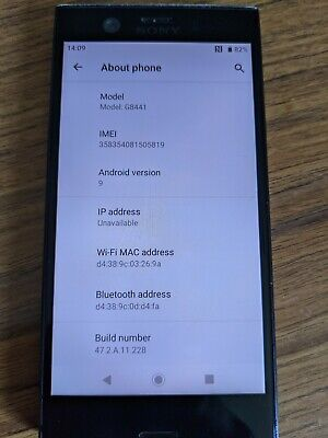 AU34.33 • Buy Sony Xperia XZ1 Compact G8441 Fully Working And Unlocked