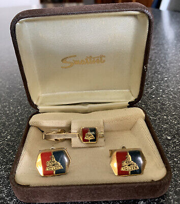 AU300 • Buy Holden Tie Pin And Cuff Link Set HR HK HT HG In Oringal Box