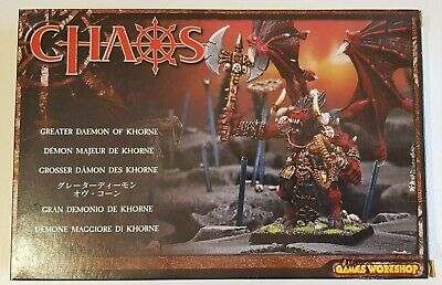AU20.50 • Buy Warhammer Greater Daemon Of Khorne Bloodthirster