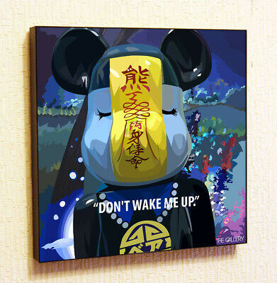 $29 • Buy Bearbrick Kaws Sleep Decor Print Wall Poster Pop  Art Canvas