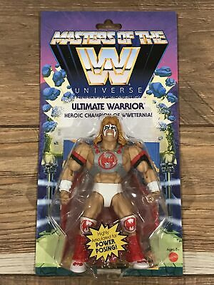 $34.99 • Buy Ultimate Warrior Wave 6 Masters Of The WWE Universe MOTU Wrestling New Sealed