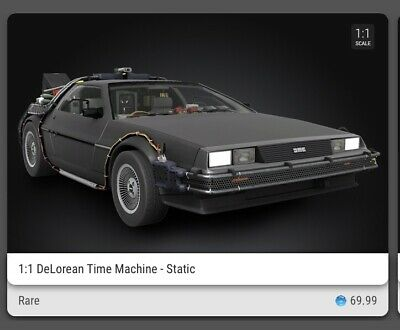 $100 • Buy Veve - NFT Back To The Future DeLorean Time Machine Rare Static 3D (SOLD OUT)