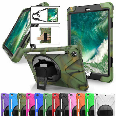 AU34.58 • Buy Shockproof Hard Case Cover With Screen Protector For IPad 9.7 6th 5th Generation